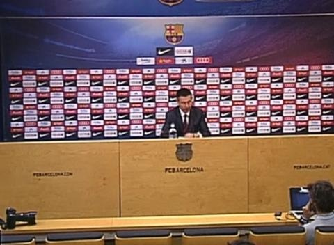 News video: Barcelona President Sticks Up for Suarez